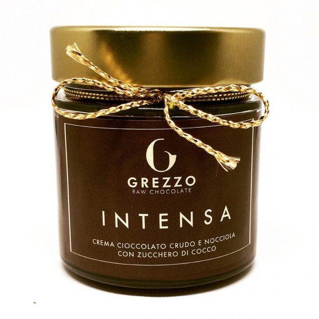 Crema cioccolato crudo e nocciole INTENSA Grezzo Raw Chocolate