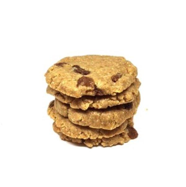 coockie crudisti con farina d'avena senza glutine uvetta zenzero e cannella - Grezzo Raw Chocolate