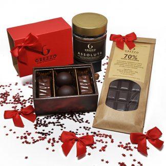 Confezione regalo senza zucchero_scatola rossa
