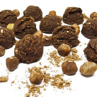Crudotti alla nocciola - pasticcini Crudisti by Grezzo Raw Chocolate