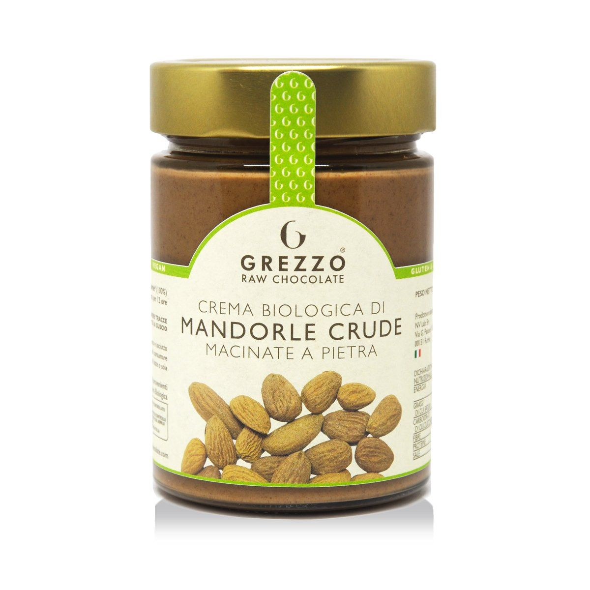 Crema Biologica di Mandorle - Grezzo Raw Chocolate - Core Nutrition