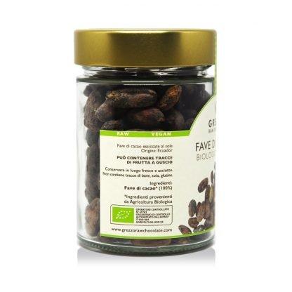 Fave di Cacao Biologiche Crude - Core Nutrition - Grezzo Raw Chocolate