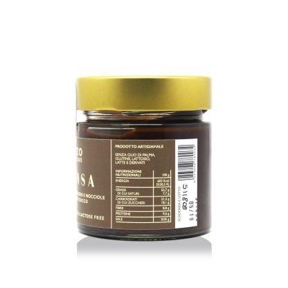 Intensa - crema cioccolato crudo e nocciole