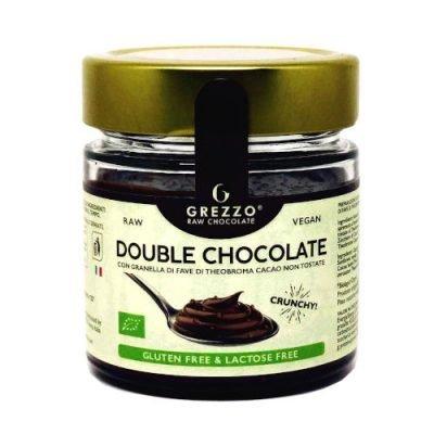 crema double chocolate con cioccolato crudo
