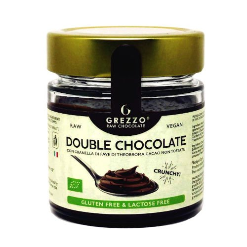 crema double chocolate con cioccolato crudo